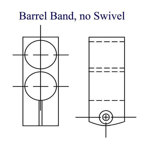 Here is one layout that works well for a custom barrel band.
