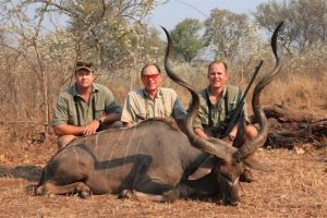 Pete Brownell uses Trinidad rifle on recent hunt.