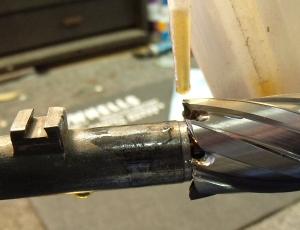 Prepairing to cut