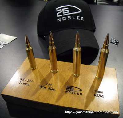 26 Nosler UPDATE, post SHOT Show 2014 | GunsmithTalk